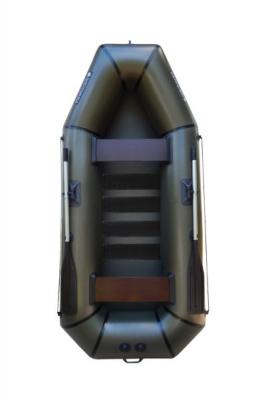 Надувная Лодка Лисичанка Л-280СБ, со слань-ковриком и привальным брусом