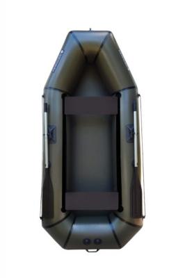 Надувная Лодка Лисичанка Л-280ПБ, без настила, с передвижными сиденьями и привальным брусом
