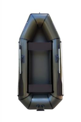 Надувная Лодка Лисичанка Л-280ПТ, без настила, с навесным транцем и передвижными сиденьями