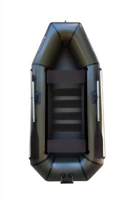 Надувная Лодка Лисичанка Л-280СПТ, со слань-ковриком, с навесным транцем и передвижными сиденьями