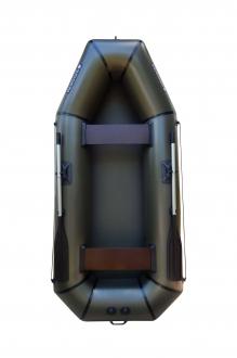 Надувная Лодка Лисичанка Л-280Б, без настила, с привальным брусом