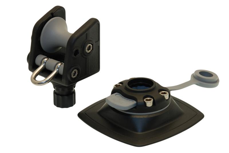 Роликовый узел для якоря с набором для установки на надувной борт Fasten ARp 002 (Ar002+FMp224)