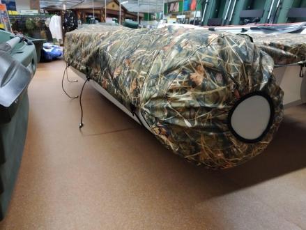 Тент транспортировочный, стояночный TENTOR для лодки 360DSL, цвет камуфляж