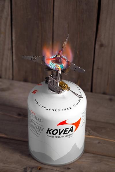 Газовая горелка Kovea KB-0101 Camp-3 Titanium