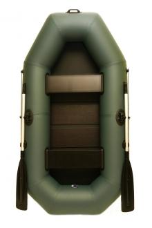 Надувная лодка GRIF boat G-240, двухместная лодка со слань-ковриком