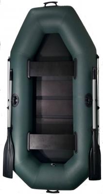 Надувная лодка GRIF boat G-250, двухместная, со слань-ковриком