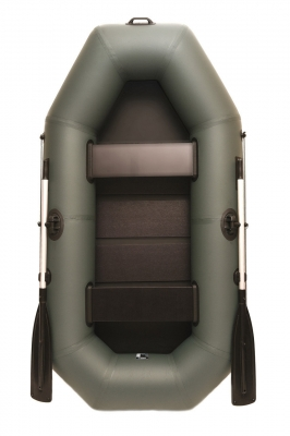 Надувная лодка GRIF boat GA-240, двухместная, со слань-ковриком