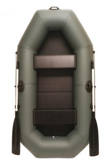 Лодки ПВХ надувные Grif boat GA-240, двухместная лодка со слань-ковриком