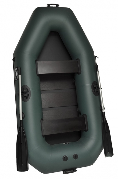 Лодка надувная 2 местная Grif boat GK-250, двухместная лодка резиновая, гребные лодки 38 баллон, резиновая надувная лодка ПВХ, лодка 250 гриф