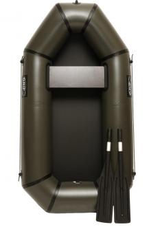 Резиновая лодка надувная Grif boat GL-190, резиновая лодка полуторка для рыбалки, лёгкая лодка пвх 190 см