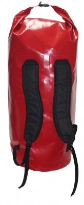 Гермомешок SKIFF 110 л красный Ф35х100 с лямками