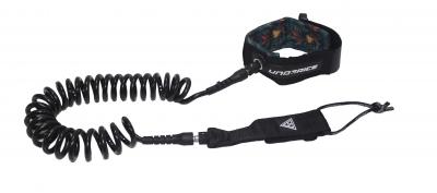 Страховочный лиш спиральный, лиш витой, страховочный шнур лиш  UICE 10'/ø7мм