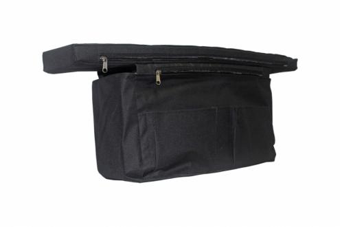 Мягкое сиденье с сумкой 800х200х50 мм