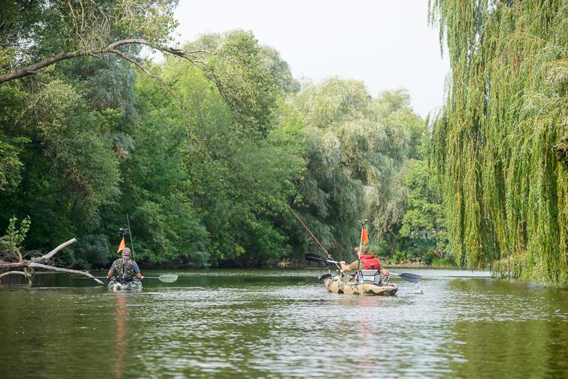 Каяк для рыбалки Riverday Fish-n-Go!