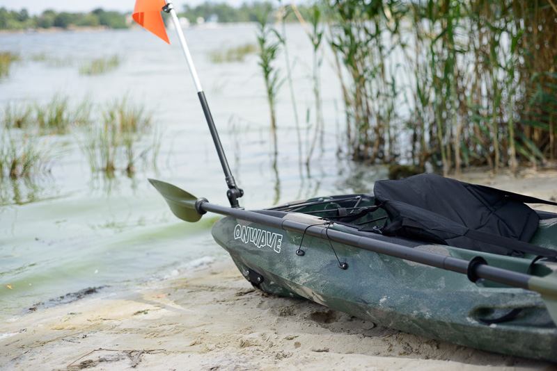 Каяк для рыбалки Riverday OnWave-300, камуфляж