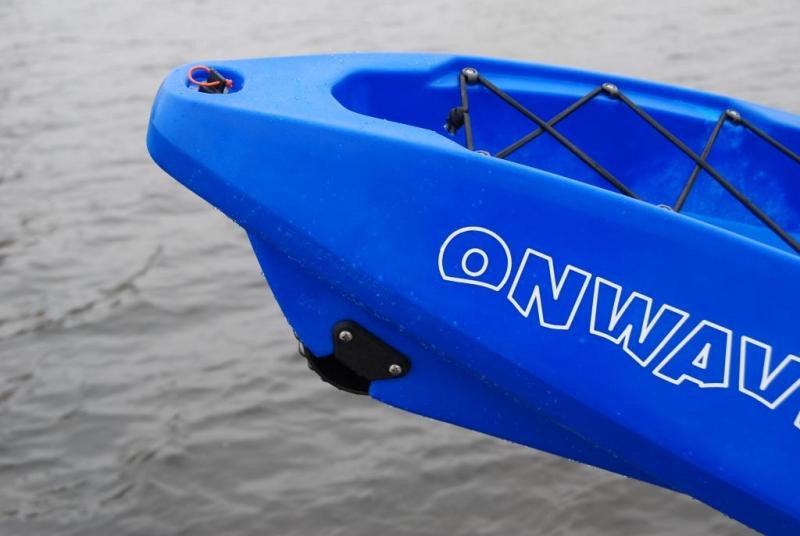 Каяк Riverday OnWave-300, туристический одноместный каяк, синий