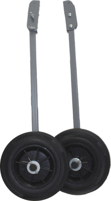 Колеса транспортировочные транцевые КТТ-03 ø200х50