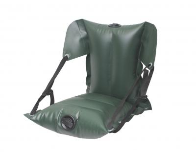 Кресло байдарочное ПВХ надувное усиленное КБНУ-850 2 х (37х27х11) Зеленое