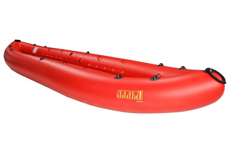 Надувная байдарка Ладья ЛБ-400-2 Чайка комфорт красная