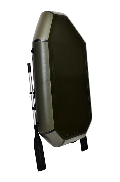 Надувная Лодка Лисичанка Л-190СУ, весла, слань-коврик