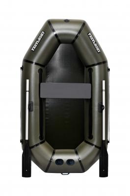 Надувная Лодка Лисичанка Л-210П, без настила, с передвижным сиденьем