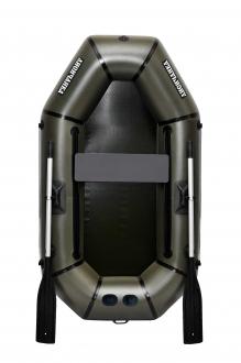 Надувная Лодка Лисичанка Л-210ПУ, без настила, с передвижным сиденьем