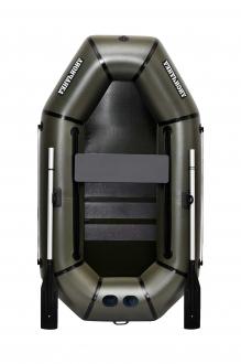 Надувная Лодка Лисичанка Л-210ПС, со слань-ковриком и передвижным сиденьем
