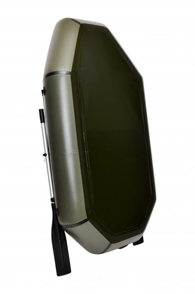 Надувная Лодка Лисичанка Л-210СПУ, со слань-ковриком и передвижным сиденьем