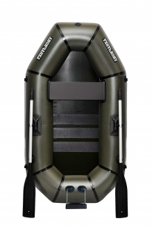 Надувная Лодка Лисичанка Л-210СТУ, со слань-ковриком и навесным транцем