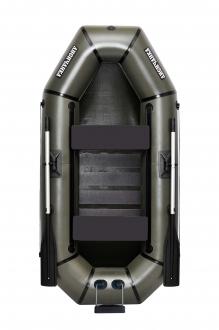 Надувная Лодка резиновая Лисичанка Л-240СПТУ, лодка со слань-ковриком, передвижными сиденьями и лодка с навесным транцем
