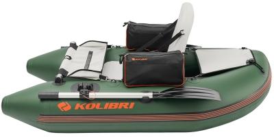 Надувная лодка-плот Колибри К-180F серии Fisherman
