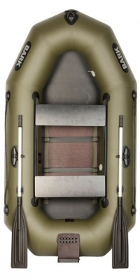 Лодка Bark В-230СND передвижные сидения (реечный настил)