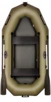 Лодка Bark В-240D передвижные сидения (без настила)