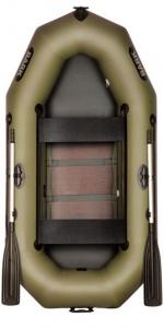 Лодка Bark В-240СD передвижные сидения (реечный настил)