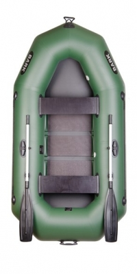 Надувная лодка Барк B-250C (реечный настил)