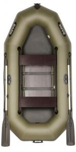 Лодка Bark В-260D передвижные сидения (реечный настил)