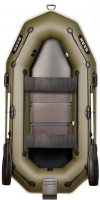 Лодка Bark В-260NPD передвижные сидения (реечный настил)