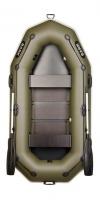 Надувная лодка Барк B-260P (реечный настил)