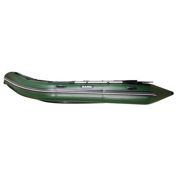 Надувная лодка Барк BN-360S с жестким фанерным дном и передвижными сиденьями