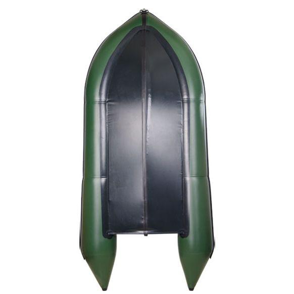 Надувная лодка Барк BN-390S с жестким фанерным дном и передвижными сиденьями