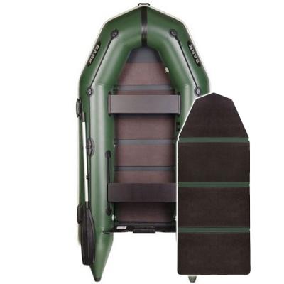 Надувная лодка Барк BT-290 со слань-книжкой и передвижным сиденьем