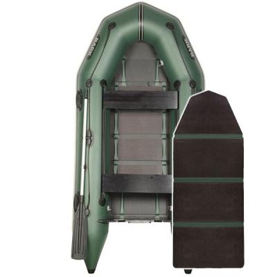 Надувная лодка Барк ВТ-290D со слань-книжкой и передвижными сиденьями