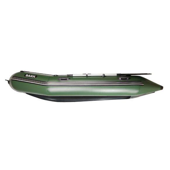 Лодка под мотор Барк BT-360SD с жестким фанерным дном и передвижными сиденьями