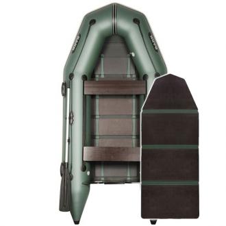 Надувная лодка Барк ВТ-310D со слань-книжкой и передвижным сиденьем