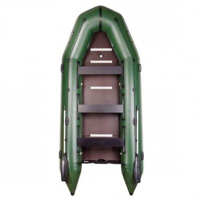 Надувная лодка Барк BT-420S шестиместная (жесткая палуба)