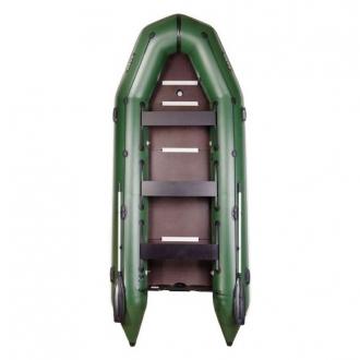 Надувная моторная лодка Барк BT-450S с жестким фанерным дном и передвижными сиденьями
