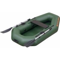 Надувная лодка Колибри К-190 зеленая, без настила