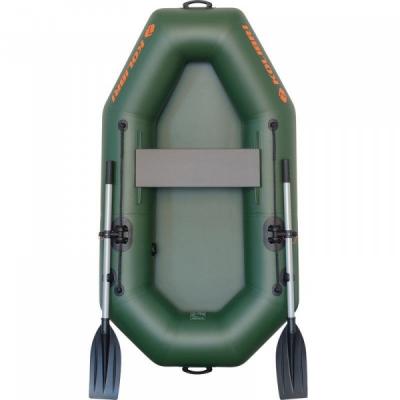 Лодка пвх полуторка Колибри К-190Х одноместная лодка гребная, лодка надувная полуторная, лодка резиновая легкая