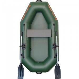 Надувная лодка Колибри К-190 одноместная, светло-серая