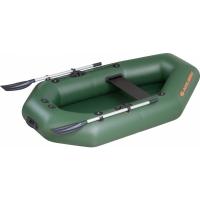 Надувная лодка Колибри К-220 зеленая, без настила